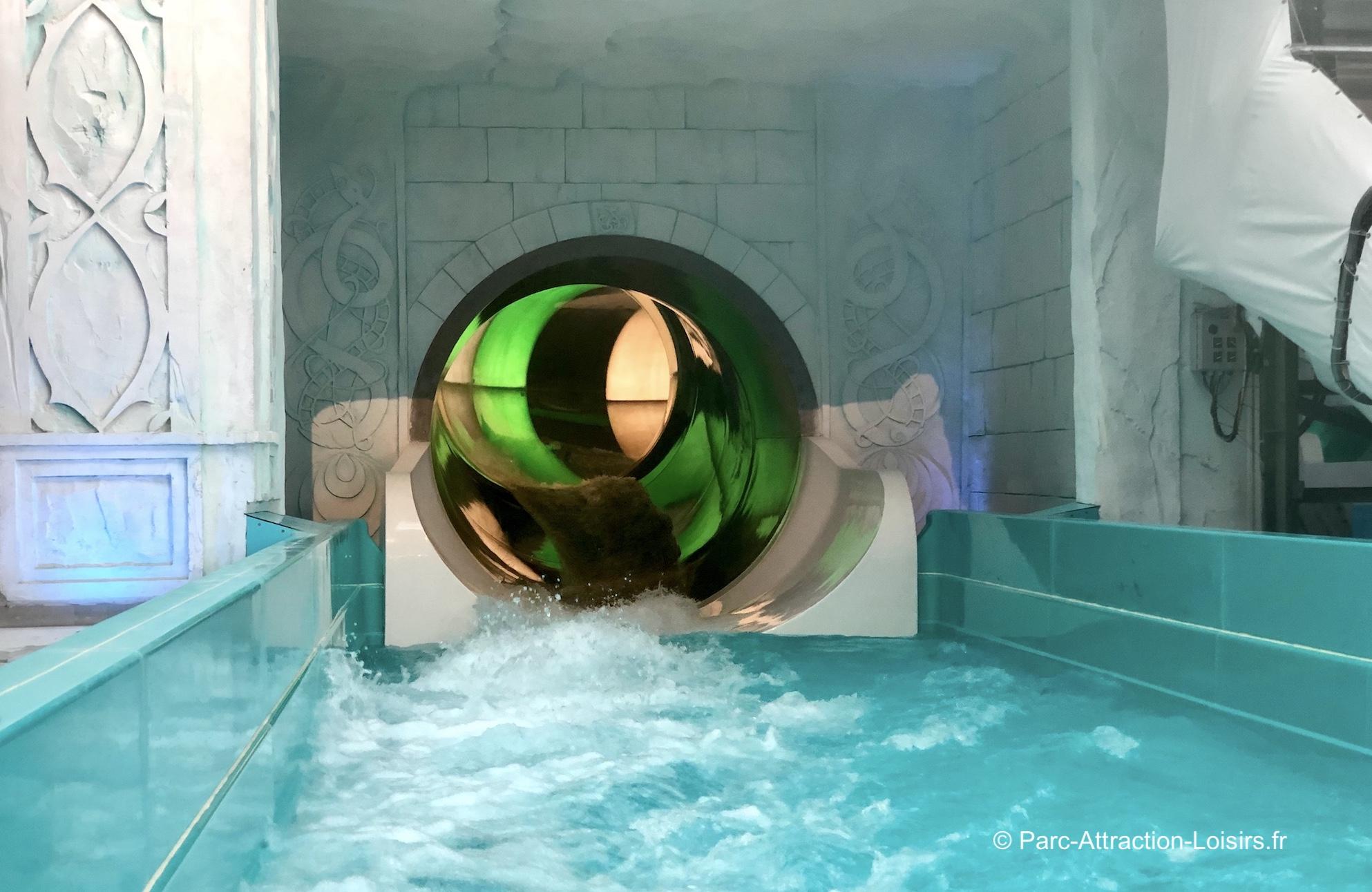 Parc aquatique Rulantica : tobogan à eau