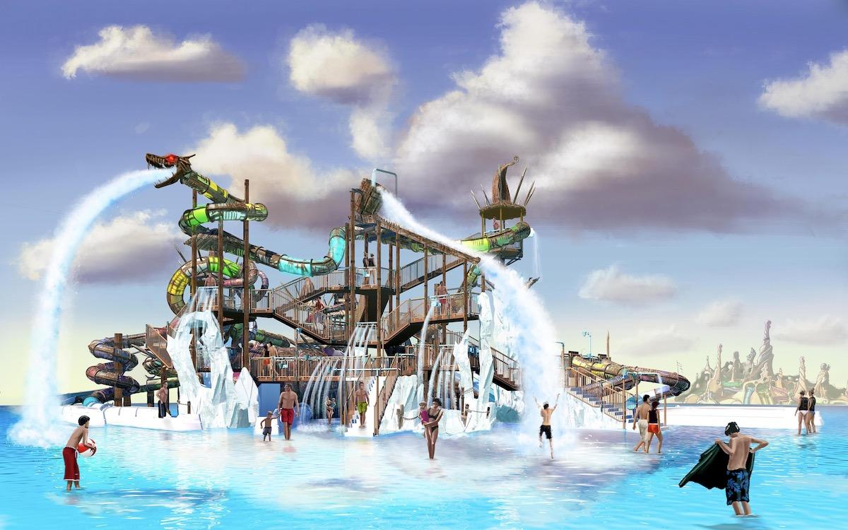 image photo nouvelle attraction aquatique rulantica