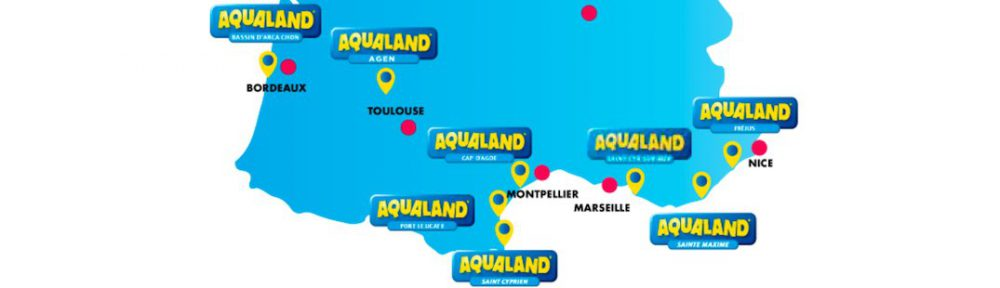 carte des aqualand en france