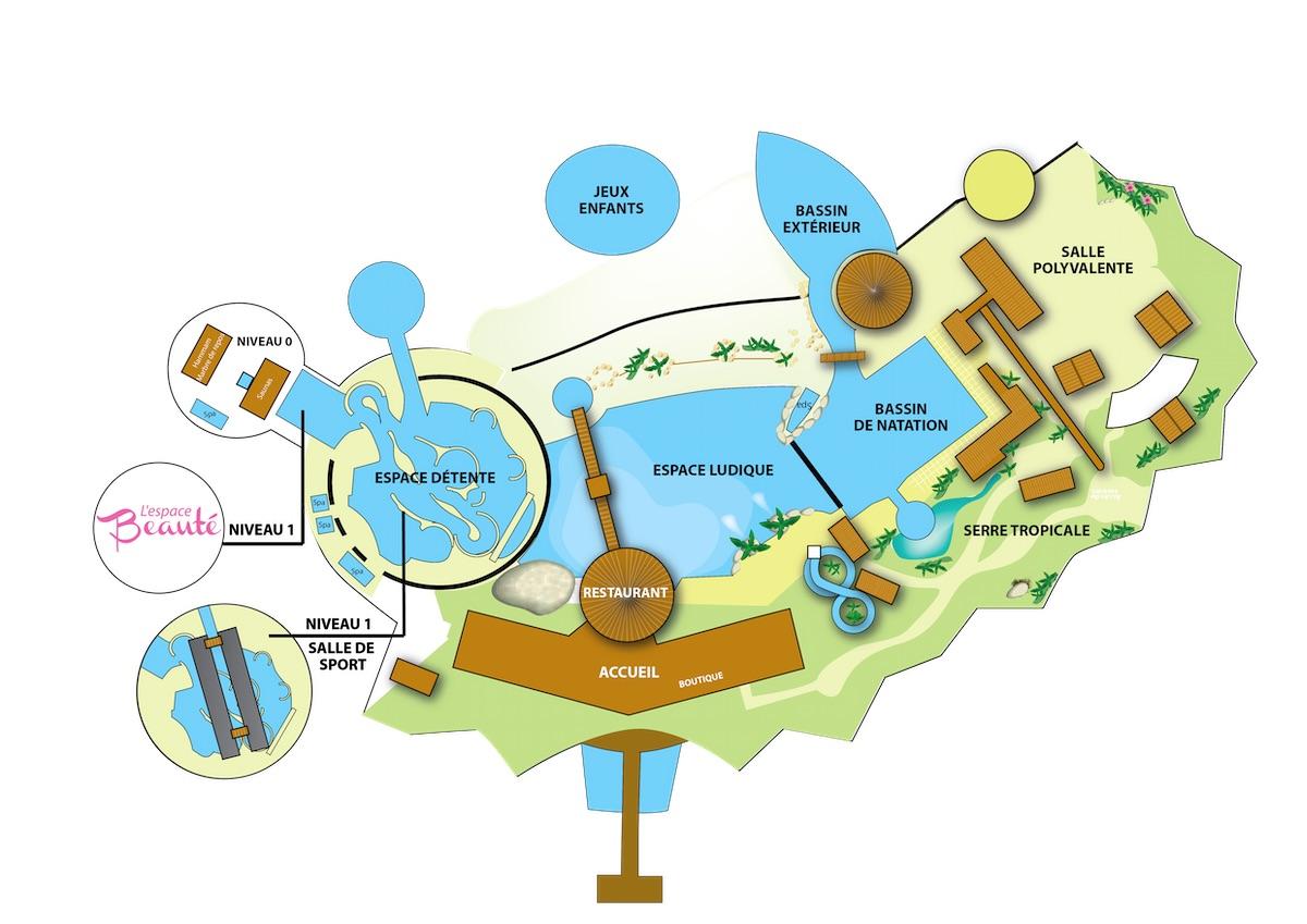 Plan Antilles Jonzac