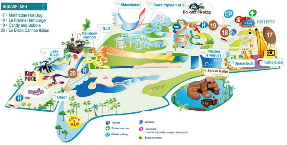 Plan Aquasplash