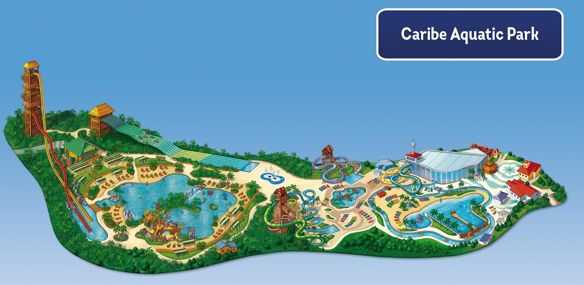 Plan Caribe Aquatik Park Portaventura